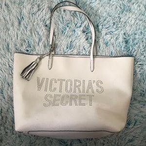 ♥️ Victoria's Secret White Tote ♥️
